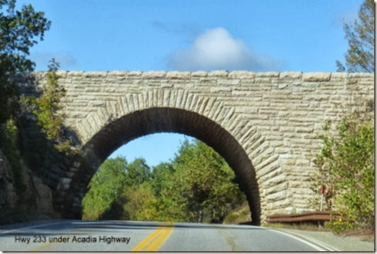 Hwy 233 under Acadia Highway