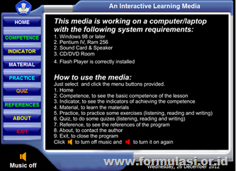 "MEDIA PEMBELAJARAN INTERAKTIF ""REPORT LEARNING-MEDIA"""