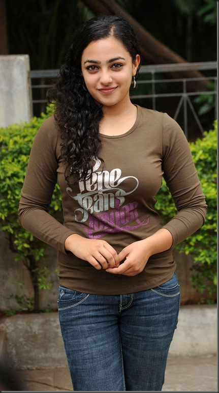 Nithya Menon in tight dress