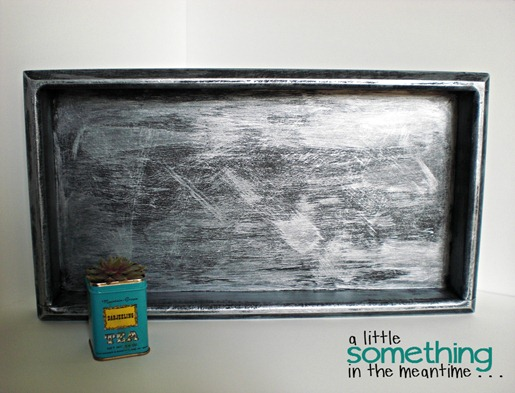 Faux Zinc Tray 4 WM