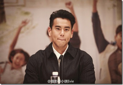 Fleet of Time 匆匆那年 Eddie Peng 彭于晏 2014.12.06 ShenZhen