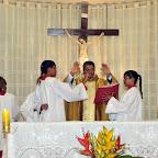 Missa de despedida do padre Manoel da Paixão - P. São Francisco de Assis