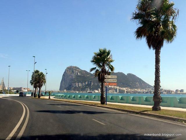 approaching Gibraltar