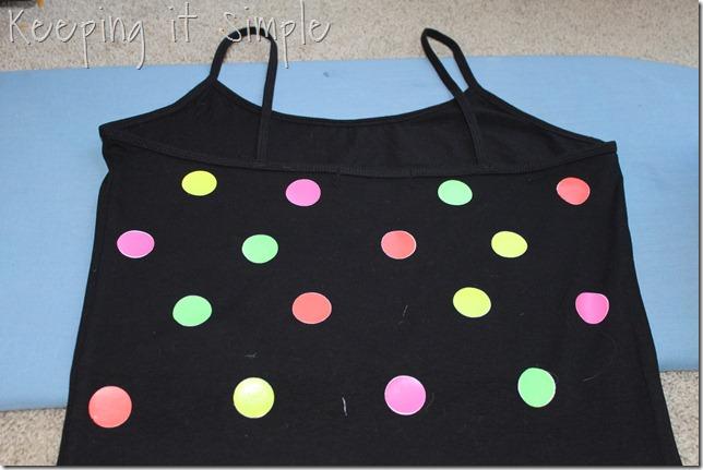 NEON polka dot shirt (7)