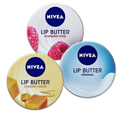 NIVEA Lip Tins
