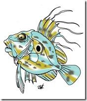 peces clipart blogcolorear (2)