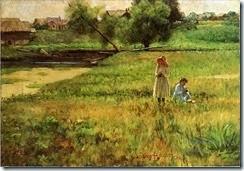 3-Summertime-landscape-John-Ottis-Adams