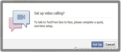 fb video call  setup