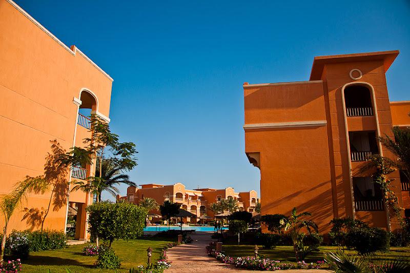 Отель Caribean World Resort Soma Bay. Хургада. Египет. После завтрака - знакомство с территорией отеля.