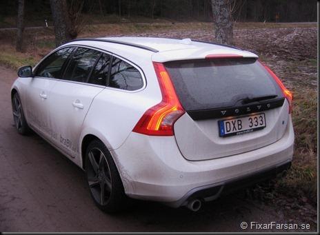 Volvo V60 D5 R-Design Polestar 2012 Bak Rear
