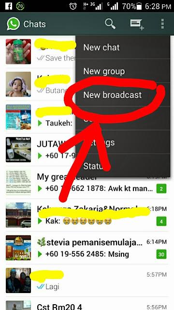 Broadcast Whatsapp Teknik Pemasaran Terbaru