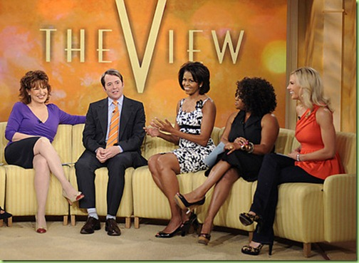 Michelle Obama The View