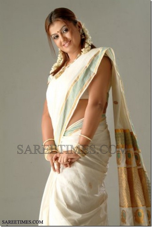 Sona_White_Traditional_Saree (2)