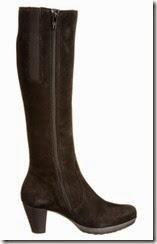 Gabor Willow Black Nubuck Boot