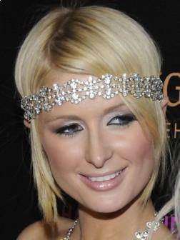 Paris Hilton Cute Short Hairstyle 2013