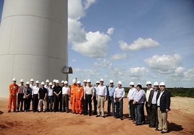 Investidores Coreanos visitam Instalações da Petrobrás - Guamaré