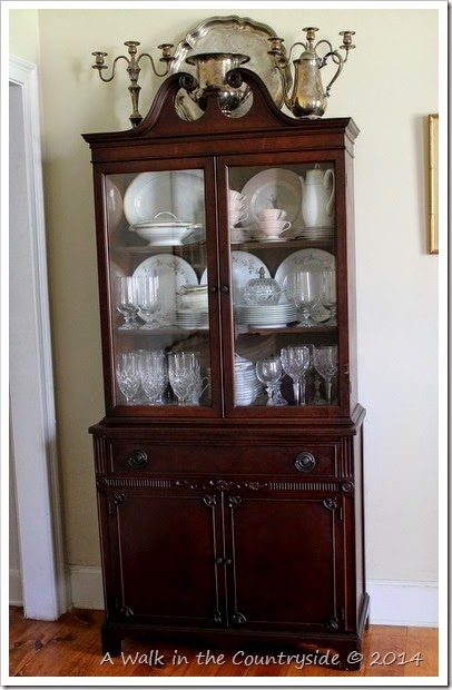 A Walk in the Countryside: New Old China Cabinet