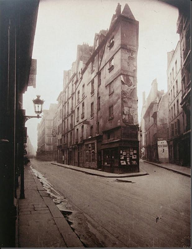 Eugène Atget Un coin, Rue de Seine