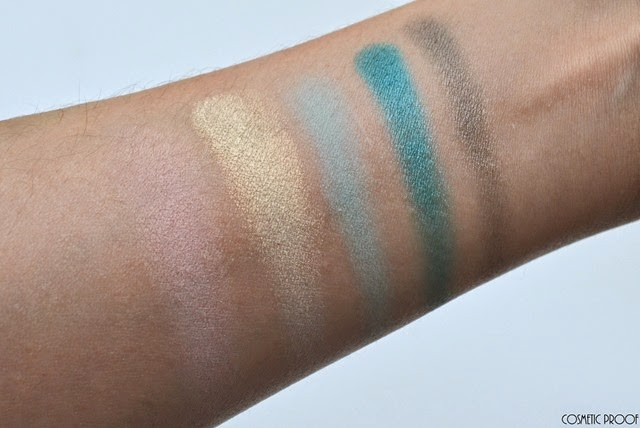 Lise Watier Expression Eyeshadow Palette Review Swatches Spring 2015 (3)