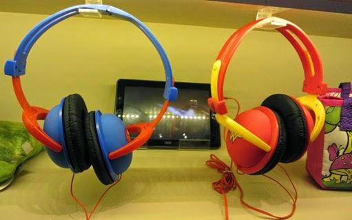 Headphones do Super-Homem e Mulher-Maravilha - Páscoa 2015