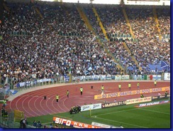striscione curva lazio all olimpico