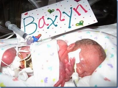 baxlyn born