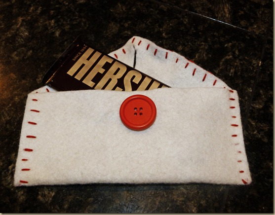Felt Envelope Valentines 5