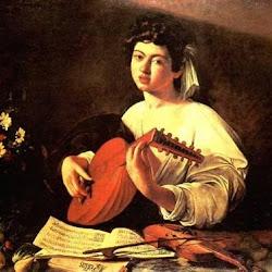 50 - Caravaggio - El tañedor de laud