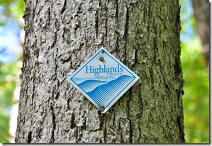 Highlands trail marker - Steven Reynolds photo