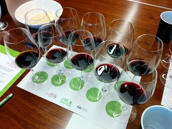 Twelve glasses of BC wine history ready to be enjoyed