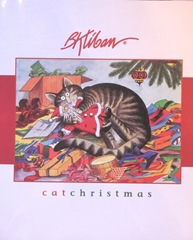 Kliban cat christmas book