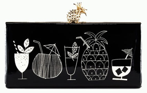 Kate Spade Tiki  Cocktail Clutch