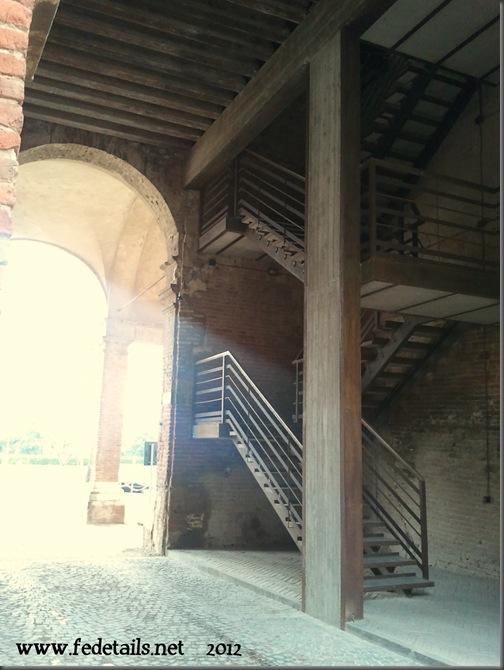 Delizia del Belriguardo ( Torre centrale, interno ), Ferrara, Emilia Romagna,Italia - Delizia del Belriguardo (inside central tower), Ferrara, Emilia Romagna, Italy - Property and Copyright of www.fedetails.net