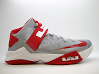 nike zoom soldier 6 tb grey red 1 08 4 x Nike Zoom Soldier VI Team Bank: Black, Navy, Green &amp; Red