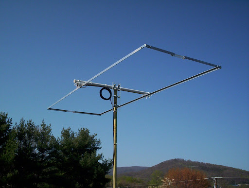 Photo of a j pole antenna picture pin