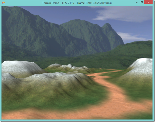 Dynamic Terrain Rendering with SlimDX and Direct3D 11