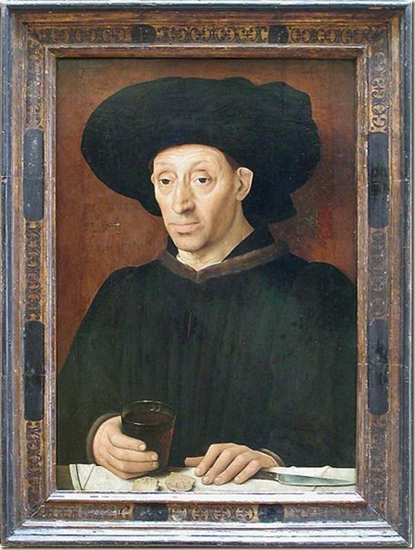Alvaro Pires d'Evora, Homme au verre de vin
