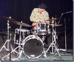 A fantastic drum solo by Jason Orme.