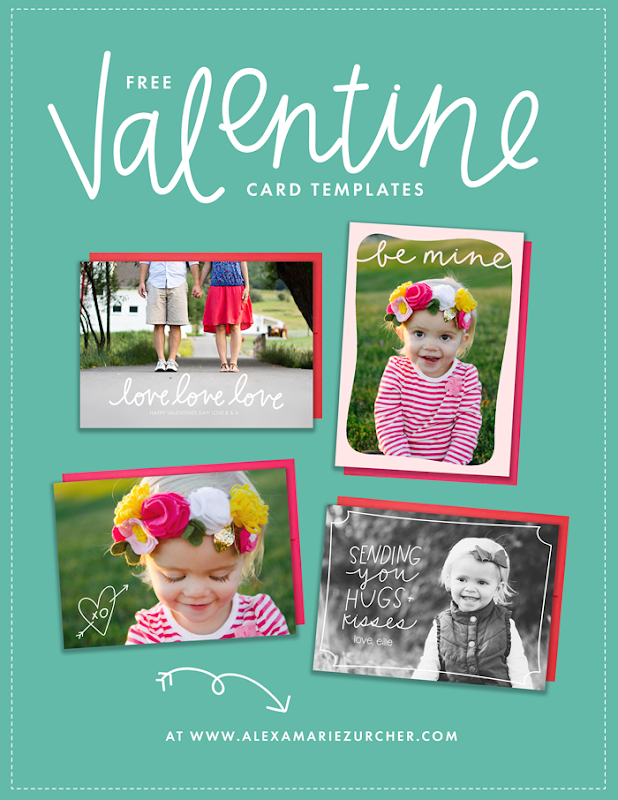 Valentine Card Templates - Free Download