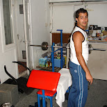 paul working out in amsterdam in Amsterdam, Noord Holland, Netherlands