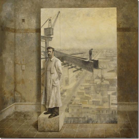 Los Inmortales - 100x100cm - Acr.s.tela