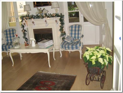 Case Di Campagna Addobbate Per Natale : Shabby and charme il mio nataleu my christmas