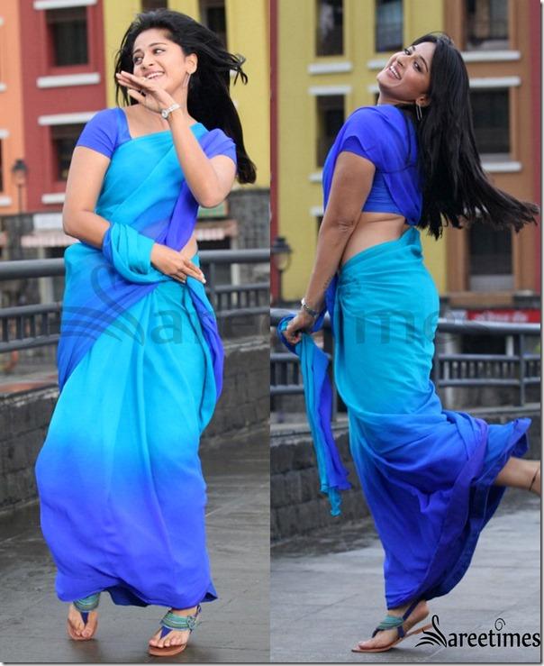 Anushka_Blue_Georgette_Sari