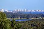 El Arboretum Lussich es un paseo ubicado en la zona de Punta Ballena, donde se puede observar una vista única de Punta del Este. Foto: LA NACION / Sebastián Rodeiro