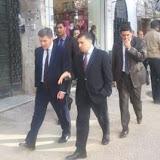 Le ministre britanique Hugh robertson en visite officielle en Algérie, La promenade de l'Anglais à Didouche-Mourad