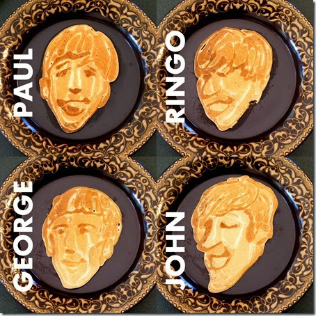 The Beatles Pancakes