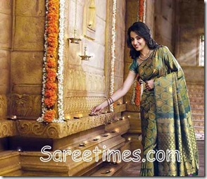 Trisha_Green_Designer_Saree