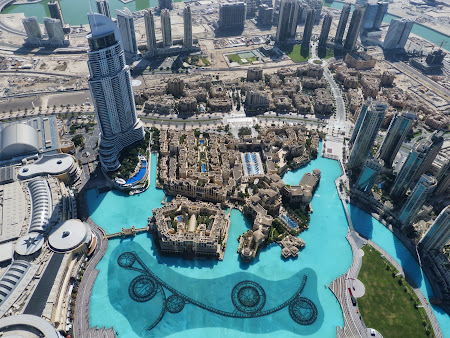 Obiective turistice Dubai: Imaginea din Burj Khalifa