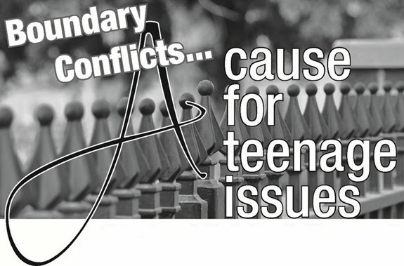 Boundary Conflicts-A cause for teenage issues_The CALL