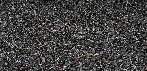 Chris Jordan's Portraits of American Mass Consumption   Amusing Planet